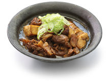 Simmered beef and tofu Royalty Free Stock Photos