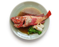 Simmered fish japanese cuisine Stock Photography