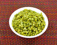 Simmered Split Green Peas Stock Images