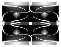 Simmetria Fotografia Stock