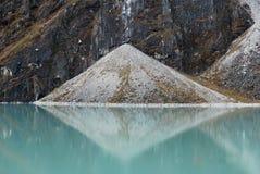 Simmetria alla riserva naturale del Everest Fotografie Stock