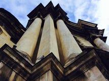 Simmetria in cielo Immagini Stock
