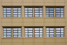 Simmetria della finestra Immagine Stock Libera da Diritti