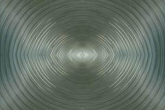 Simmetry dentro de uma tubulação de alumínio Fotografia de Stock