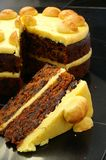 Simnel-Kuchen Stockbild