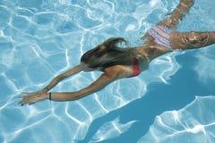 simning Royaltyfri Foto