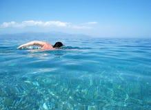 simning Fotografering för Bildbyråer