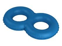 simning för dubbel cirkel stock illustrationer