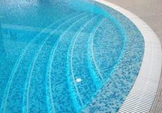 simning för kustfitnpöl Fotografering för Bildbyråer