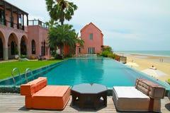 simning för morocco pölstil Royaltyfria Bilder