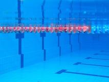 Simning-slå samman Royaltyfri Foto