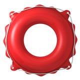 Att simma ringer Fotografering för Bildbyråer