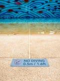 Simningtecken Arkivbilder