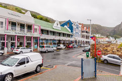 Simon�s Town in South Africa Royalty Free Stock Photo