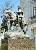 simon bolívar του 2010 άγαλμα Ουάσιγ&kappa Στοκ Εικόνες