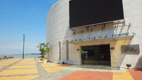 Simon Bolivar Auditorium entrance on the Malecon 2000 Royalty Free Stock Photography