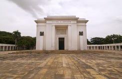 Simon Bolivar Monument. Wide Angle Image of Simon Bolivar Monument Royalty Free Stock Photos