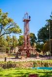 Simon Bolivar Park. SUCRE, BOLIVIA - MAY 22, 2015: Tower like Eiffel Tower in Simon Bolivar Park in Sucre, capital of Bolivia Royalty Free Stock Photo