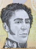 Simon Bolivar portret zdjęcia royalty free