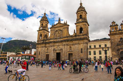 Simon Bolivar Square Royalty Free Stock Photography