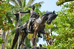 Simon Bolivar Statue Image stock