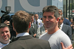 Simon Cowell,Ryan Seacrest Royalty Free Stock Photo
