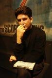 Simon Cowell wosku postać Zdjęcie Stock