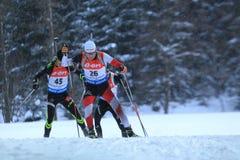 Simon Eder - biathlon Stock Image
