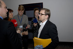 SIMON EMIL AMMITZBOLL_POLITICIANS Стоковое фото RF