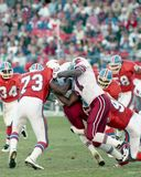 Simon Fletcher Denver Broncos #73 Arkivfoton