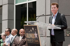 Simon Fuller Hollywood Walk of Fame Star Ceremony Stock Images