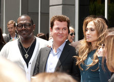 Simon Fuller Hollywood Walk of Fame Star Ceremony Stock Photography