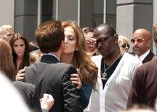 Simon Fuller Hollywood Walk of Fame Star Ceremony Stock Images