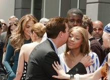 Simon Fuller Hollywood Walk of Fame Star Ceremony Stock Image