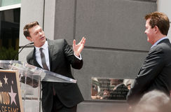 Simon Fuller Hollywood Walk of Fame Star Ceremony Royalty Free Stock Image