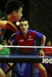 Simon Gauzy. ( France ) , world champion  during the world junior table tennis championships in cartagena de indios Stock Photography
