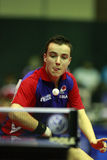 Simon Gauzy. ( France ) , world champion  during the world junior table tennis championships in cartagena de indios Stock Photos