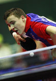 Simon Gauzy. ( France ) , world champion  during the world junior table tennis championships in cartagena de indios Stock Image