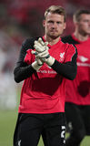 Simon Mignolet of Liverpool Royalty Free Stock Images