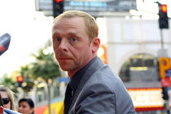 Simon Pegg Royalty Free Stock Photos
