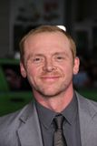 Simon Pegg Stock Photography