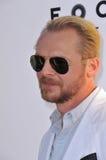 Simon Pegg Stockfoto