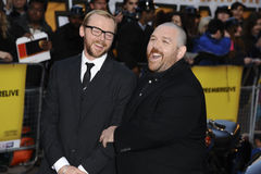 Simon Pegg and Nick Frost Royalty Free Stock Photography