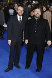 Simon Pegg and Nick Frost Royalty Free Stock Photos