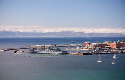 Simon's Town naval harbor Stock Photography