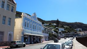 Simon`s Town in South Africa stock image