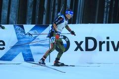 Simon Schempp - biathlon Stock Afbeelding