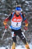 Simon Schempp - biathlon Stock Images