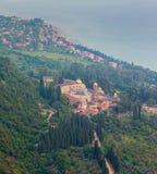 Simon trosivrarekloster på nya Athos, Abchazien Arkivbilder