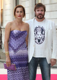 Simon and Yasmin Le Bon. Arriving for the Royal Academy of Arts Summer Exhibition Party, at the Royal Academy of Arts, London. 30/05/2012 Picture by: Alexandra Royalty Free Stock Photo